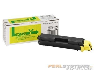 Kyocera Toner Yellow TK-590Y P6026 FSC2026MFP FSC2126MFP FSC5250DN