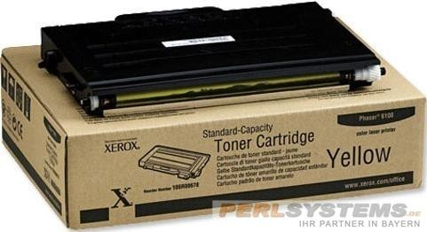 XEROX PH6100 Toner Yellow 2000 Seiten Standard Capacity