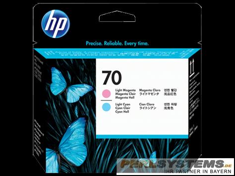 HP 70 Druckkopf Hellcyan + Hellmagenta DesignJet Z2100