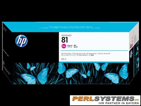 HP 81 Tinte Magenta für HP DesignJet 5000 Serie