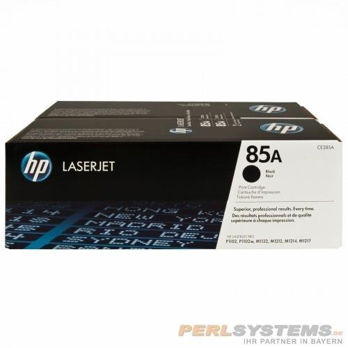 HP 85A Toner Black Doppelpack für LaserJet P1002 P1102 1200 M1130