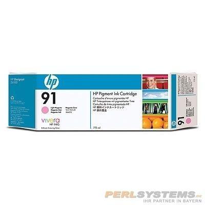 HP 91 Tinte Light Magenta für DesignJet Z6100