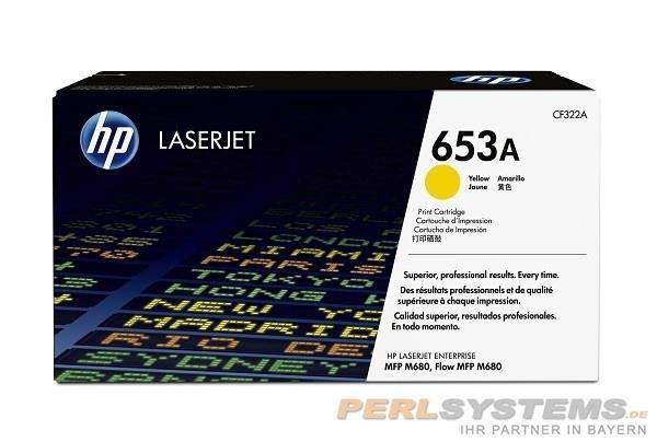 HP 653A Toner Yellow HP Color LaserJet Enterprise M680