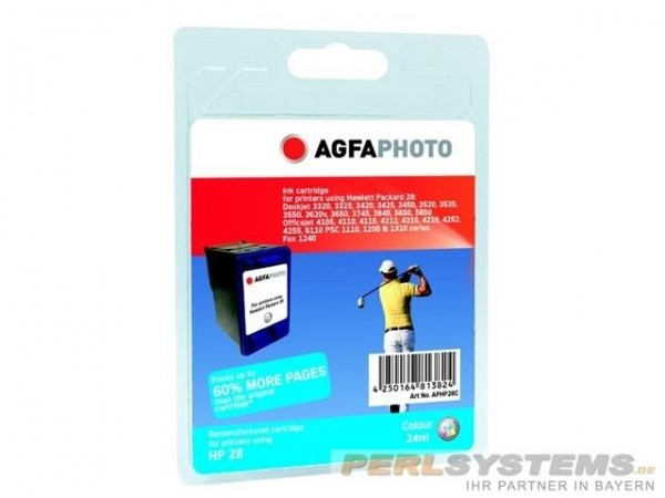 AGFAPHOTO HP28C HP DJ3420 Tinte Color