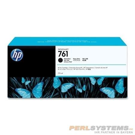 HP 761 Tinte schwarz matt für DesignJet T7100