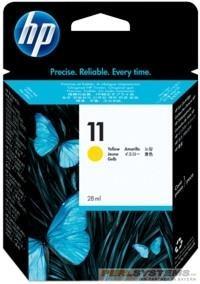 HP 11 Tinte Yellow für Business InkJet 2200 2250 Color InkJet 1700 2600